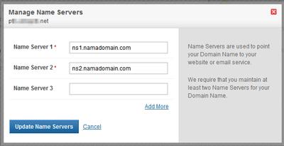 Membuat Name Server Untuk Pengguna Reseller